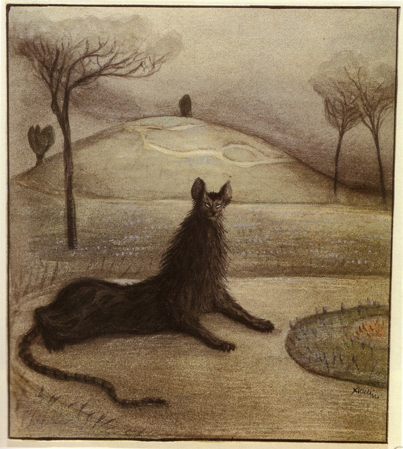 mudwerks :     (via  MONSTER BRAINS: Alfred Kubin )   Alfred Kubin - Dream Animal (1903)