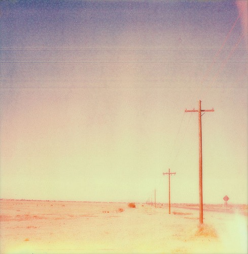 -polaroid :     Number 2 Filter (by  sol exposure )