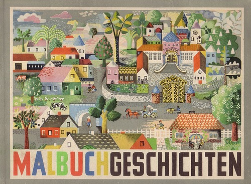 carnetimaginaire: Heinz Kiessling, Malbuchgeschichten