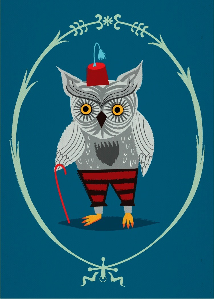 'Olaf The Old Grey Owl' available here > http://ow.ly/4UqHi
