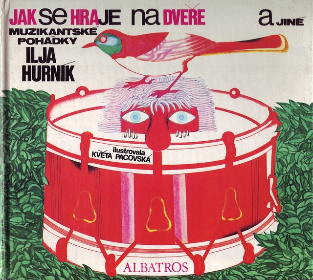 20 Kveta Pacovska, illus. for Jak Se Hraje Na Dvere a Jine Muzikantske Pohadky by Ilja Hurnik (Czech, 1973), cover by 50 Watts (formerly A Journey Round My Skull) on Flickr.
