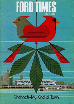 iconoclassic :     Charley Harper cardinals (by  art.crazed )