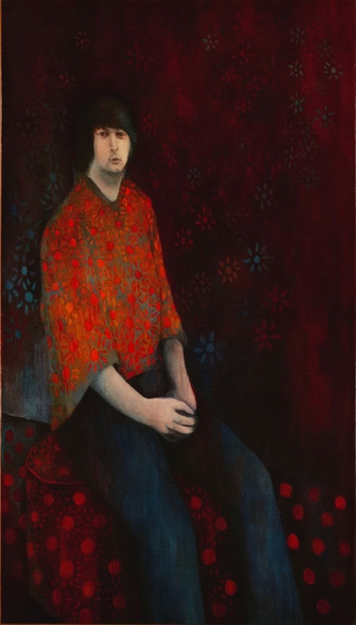 Brian Wilson painting by David Ardele found via  http://mysp.ac/pyYbc1