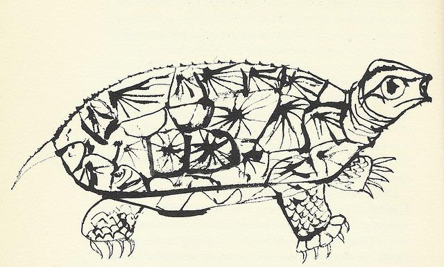 "12: ""Turtle"" by Ben Shahn via Scott Lindberg on Flickr."