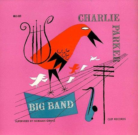 wordsandeggs: Vintage Charlie Parker album cover, Boom Underground.