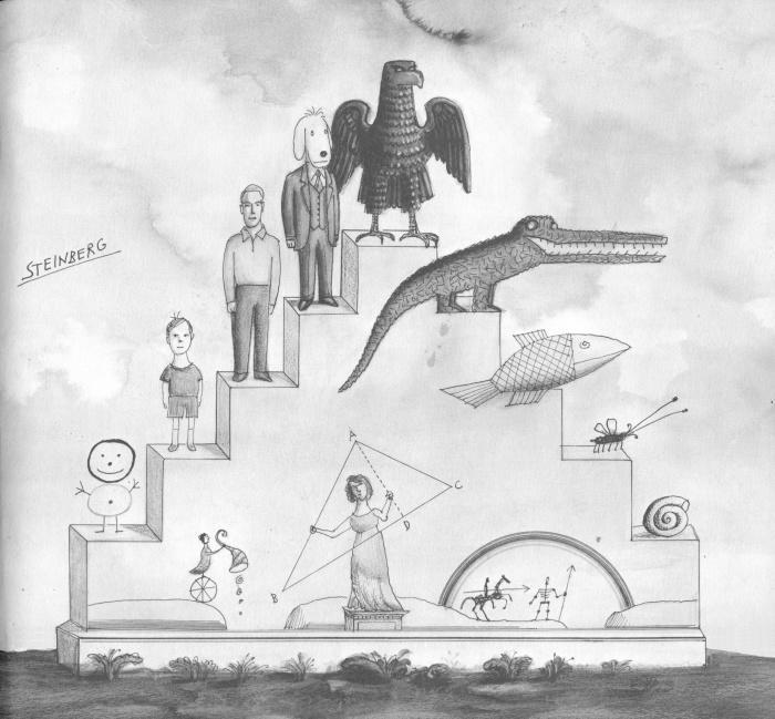 iconoclassic: utnapishti: Saul Steinberg