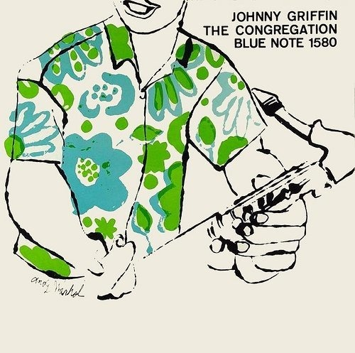 newmanology :      Johnny Griffin , The Congregation LP cover (1957) Cover art:  Andy Warhol