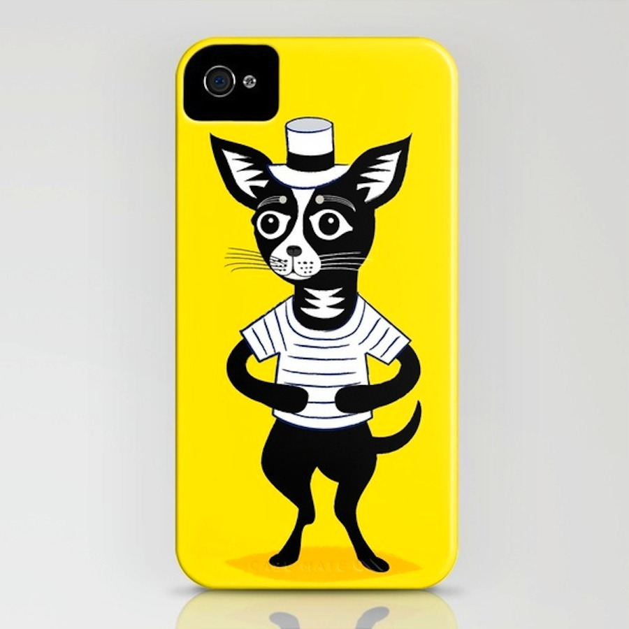 'HOORAY FOR MR. BENTLEY' New illustrated iPhone Case > http://etsy.me/JOVayM