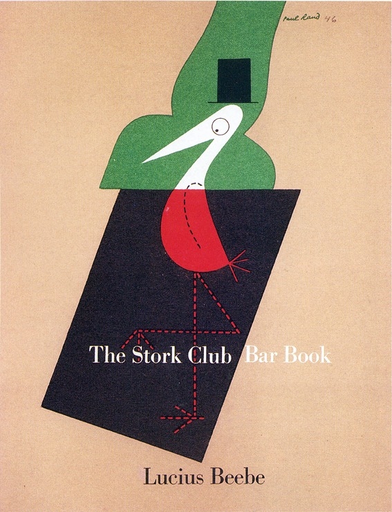 phasesphrasesphotos: The Stork Club Bar Book Design by Paul Rand