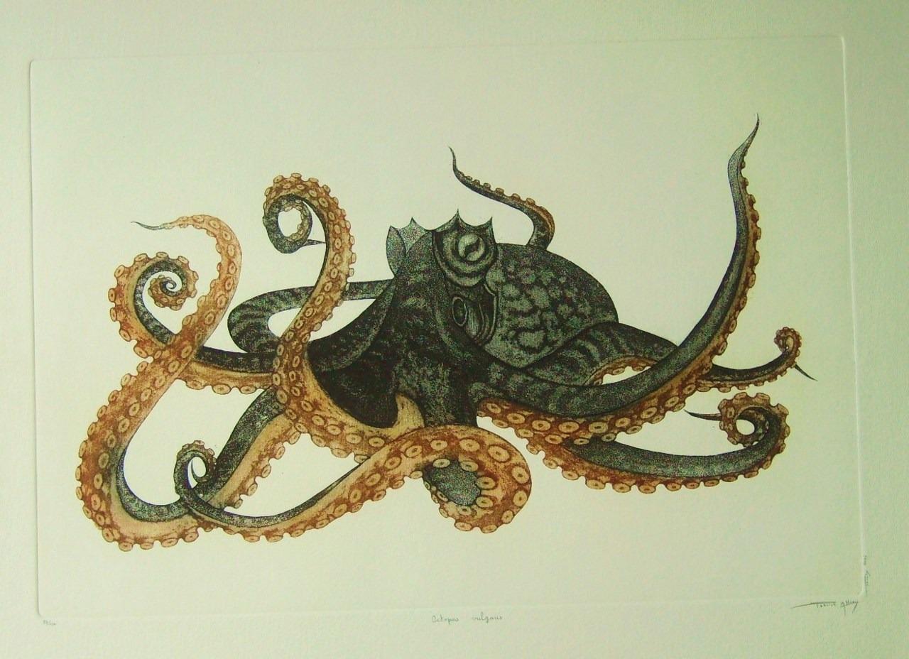 artchipel: Patrick Allien - Polvo. Agua forte e água-tinta, 45x30cm / 54x39cm (2005)