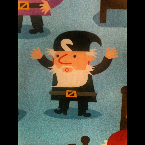 The angriest dwarf.   (Taken with  Instagram )