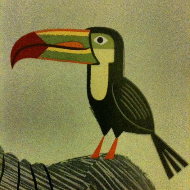 Toucan play at that game. #illustration #iOTA (Taken with Instagram)