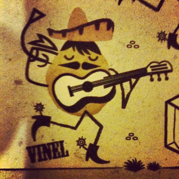 The Mariachi Man. #illustration #iOTA (Taken with Instagram)