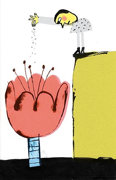 carnetimaginaire :     Fred Benaglia, Flower Power