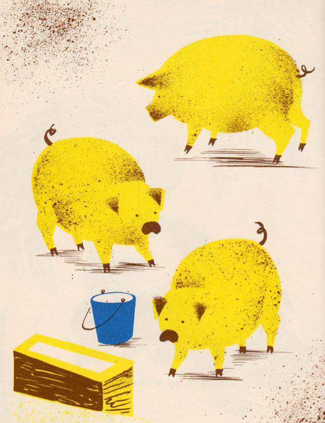 the-zoo-keeper: Leonard Weisgard
