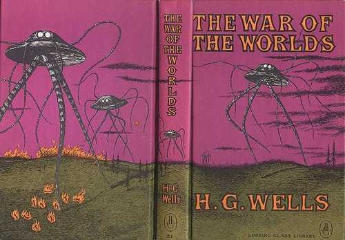 giganticworlds :     insanely awesome H.G. Wells cover by Edward Gorey