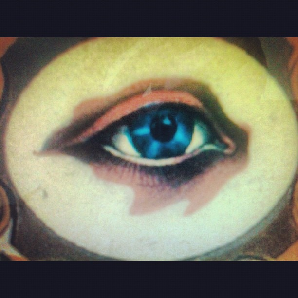 The eye. (Taken with  Instagram )