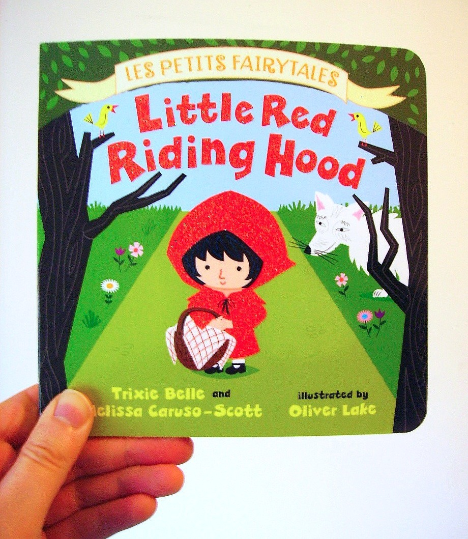 'Little Red Riding Hood' children's book Published today!  Available to buy here > http://bit.ly/1liuUQi