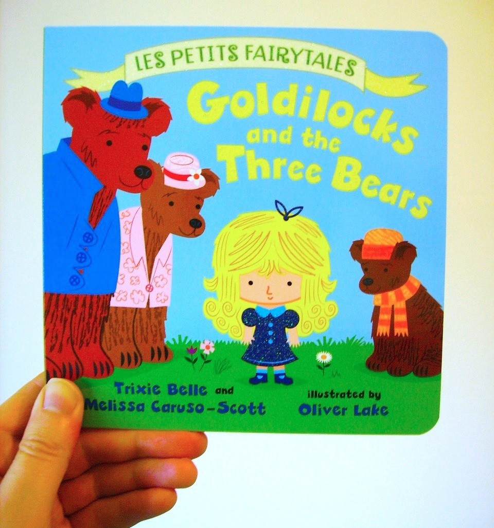 'Goldilocks and the Three Bears' children's book Published today!  Available to buy here > http://bit.ly/Nu17pp