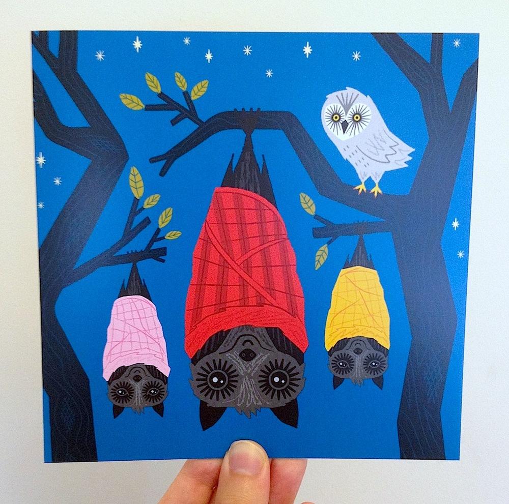 Bats in Blankets