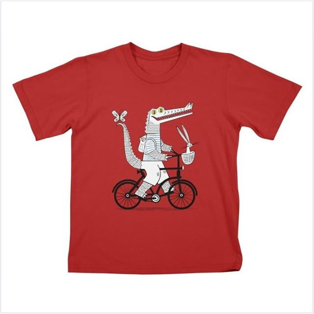 'The Crococycle' Children's T-shirt