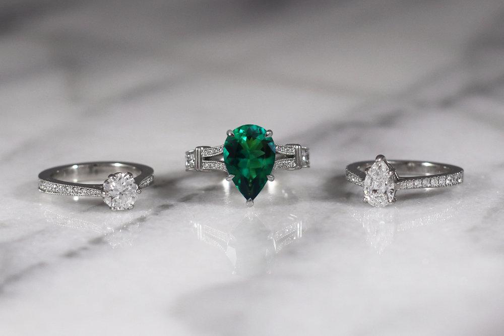 Elisa Melegari Jewelry Engagement Rings