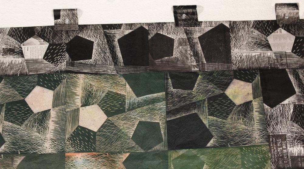 Pentagonal Quilt (detail)