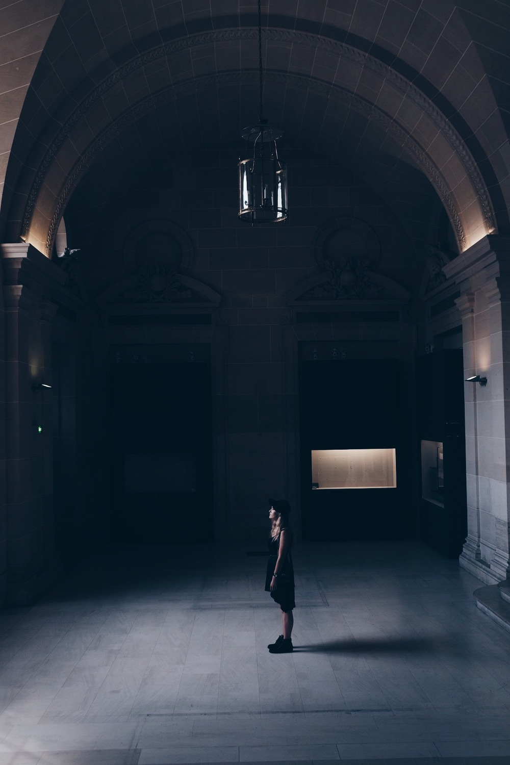We found the only part of the museum where there was no one else in the room and it was absolutely wonderful.