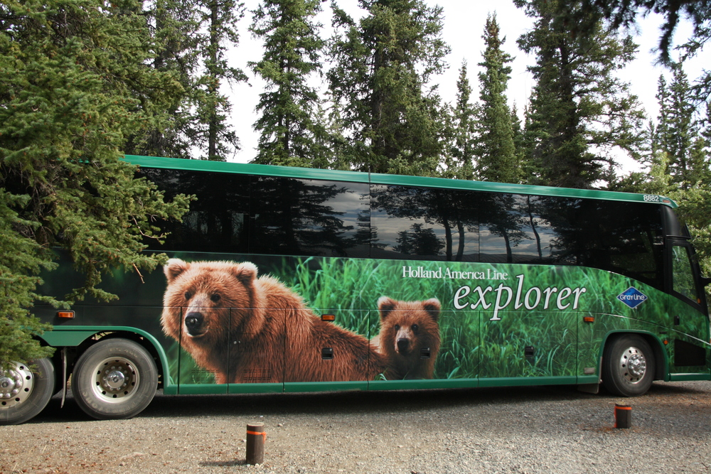 Holland America Coach - Dawson to WhiteHorse