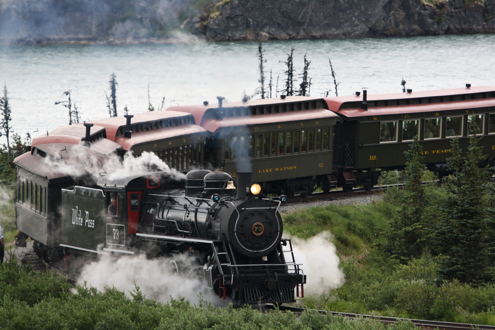 WP & Y RR photo tour from Skagway