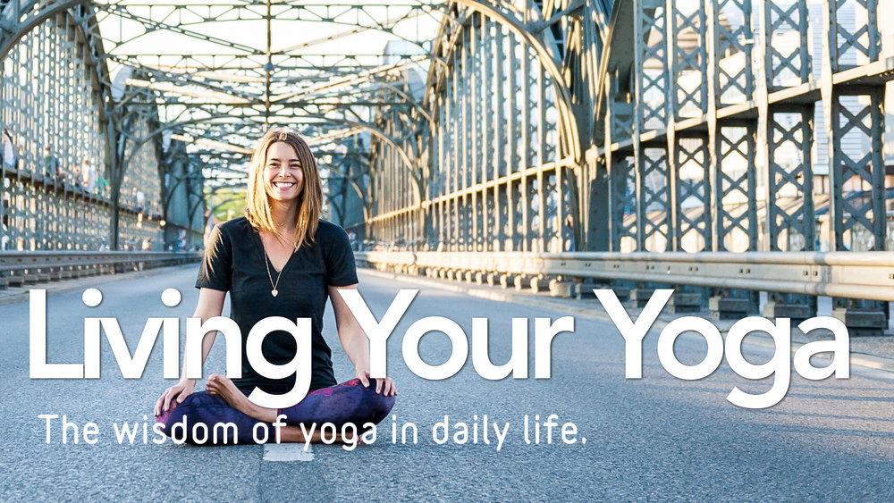 Living Your Yoga Card Lasater