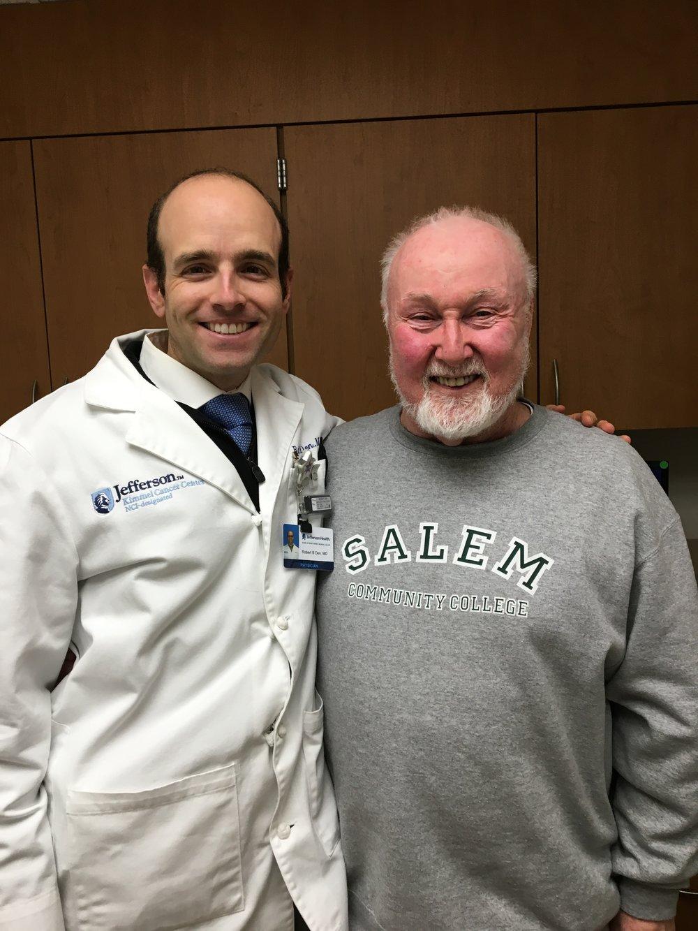 - Dr. Robert B. DenRadiation OncologistThomas Jefferson University Hospital