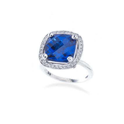 Sapphire and Diamond Halo Engagment Ring.jpg