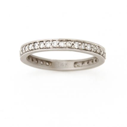 White Gold Pavé Diamond Eternity Wedding Band.JPG