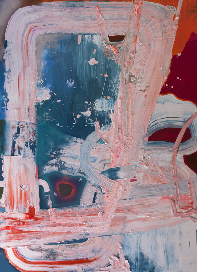 Blue Pink | Chris Trueman | whiteboxcontemporary.com