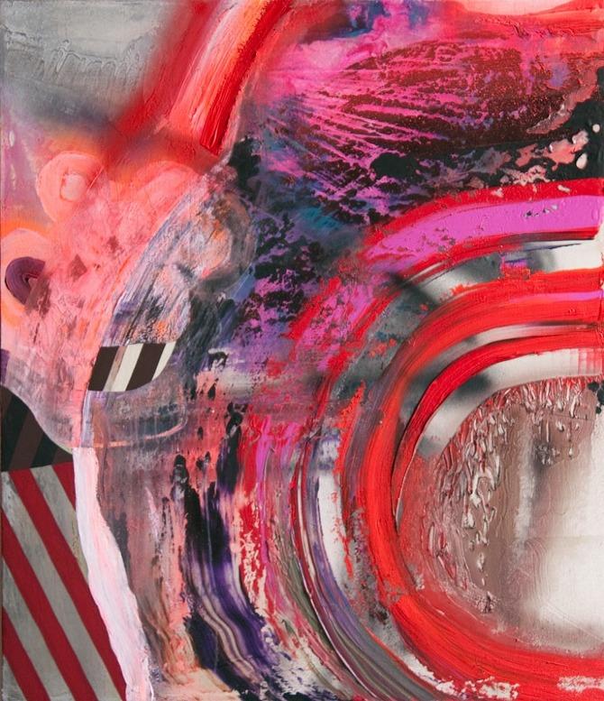 Red Stripes | Chris Trueman | whiteboxcontemporary.com