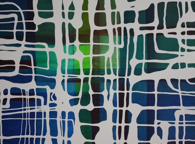 Liquidline Trapped Landscape Fushia | Lindsey Nobel | whiteboxcontemporary.com