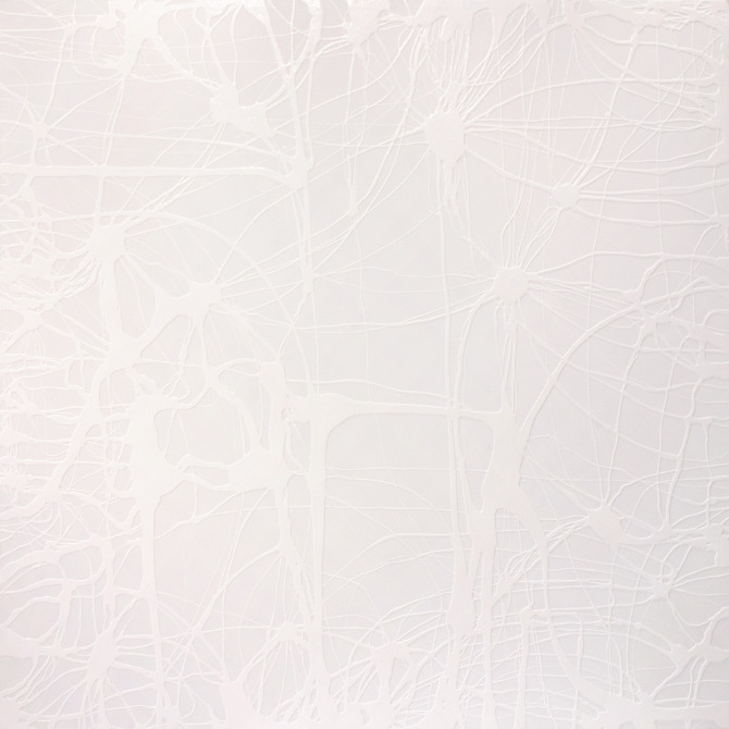 White on White Lines 2 | Lindsey Nobel | whiteboxcontemporary.com