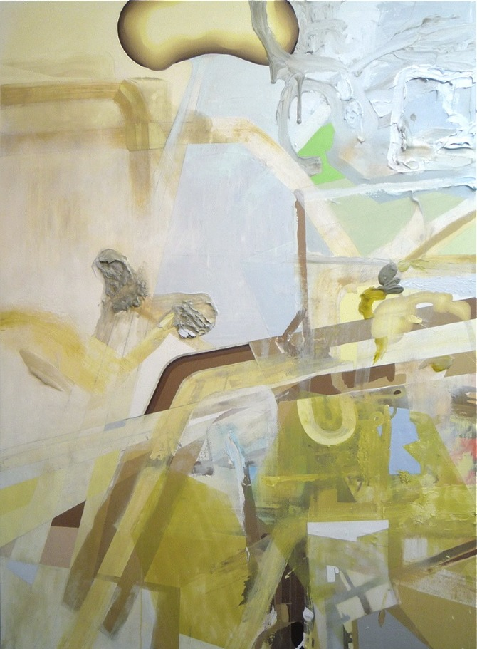 "Yellow Brown | 84"" x 60"" 