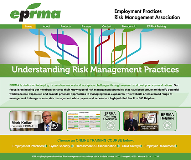 EPRMA   (Click icon above to visit live website)