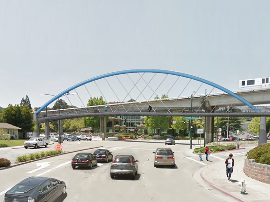 Ygnacio Valley Road Bicycle and Pedestrian Bridge