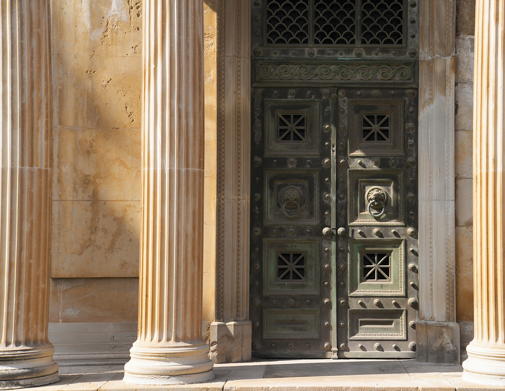 Mausoleum at the Cemetary of Montjuíc, Barcelona