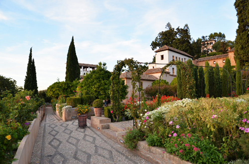 Generalife Lower Gardens, Prieto Moreno, 1931-1951, Granada