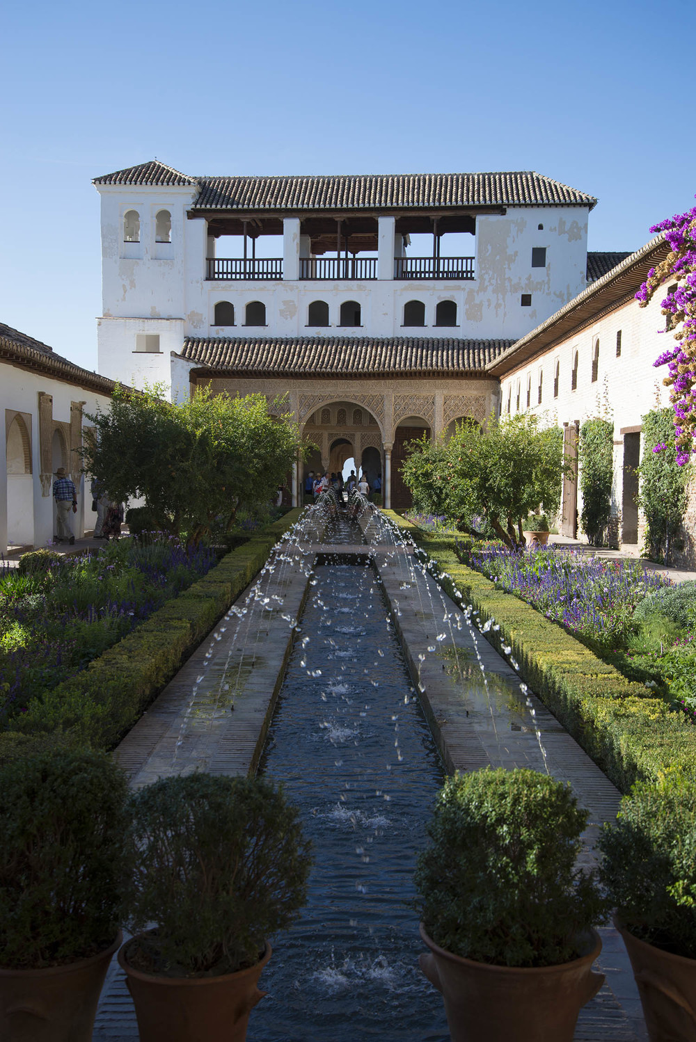 Patio of the Estuary, 14th Century, Granada