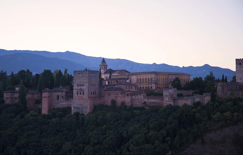 Alhambra from Mirador de San Nicolás, Granada