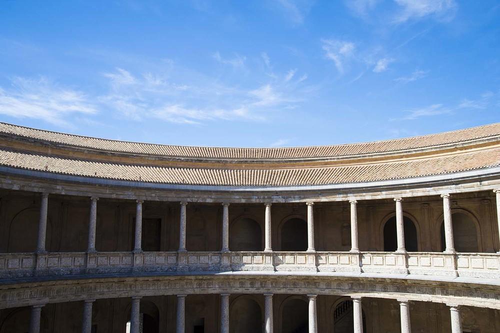 Palace of Carlos V, Pedro Machuca, 1527-1957, Granada