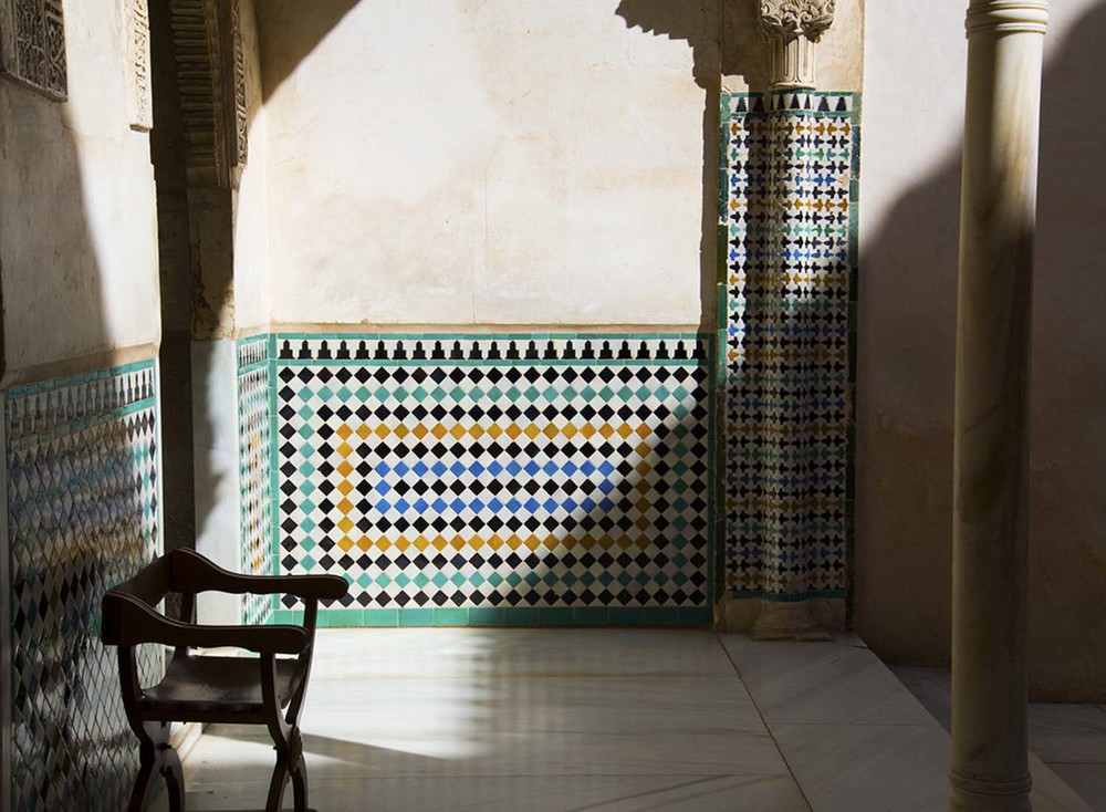 Mexuar Patio, Isma'il with Yusuf I & Muhammad V, 14th Century, Granada