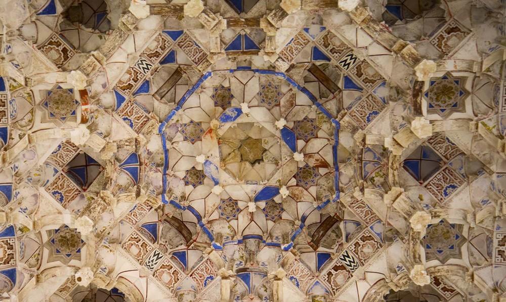 Alhambra Ceiling, 14th Century, Granada