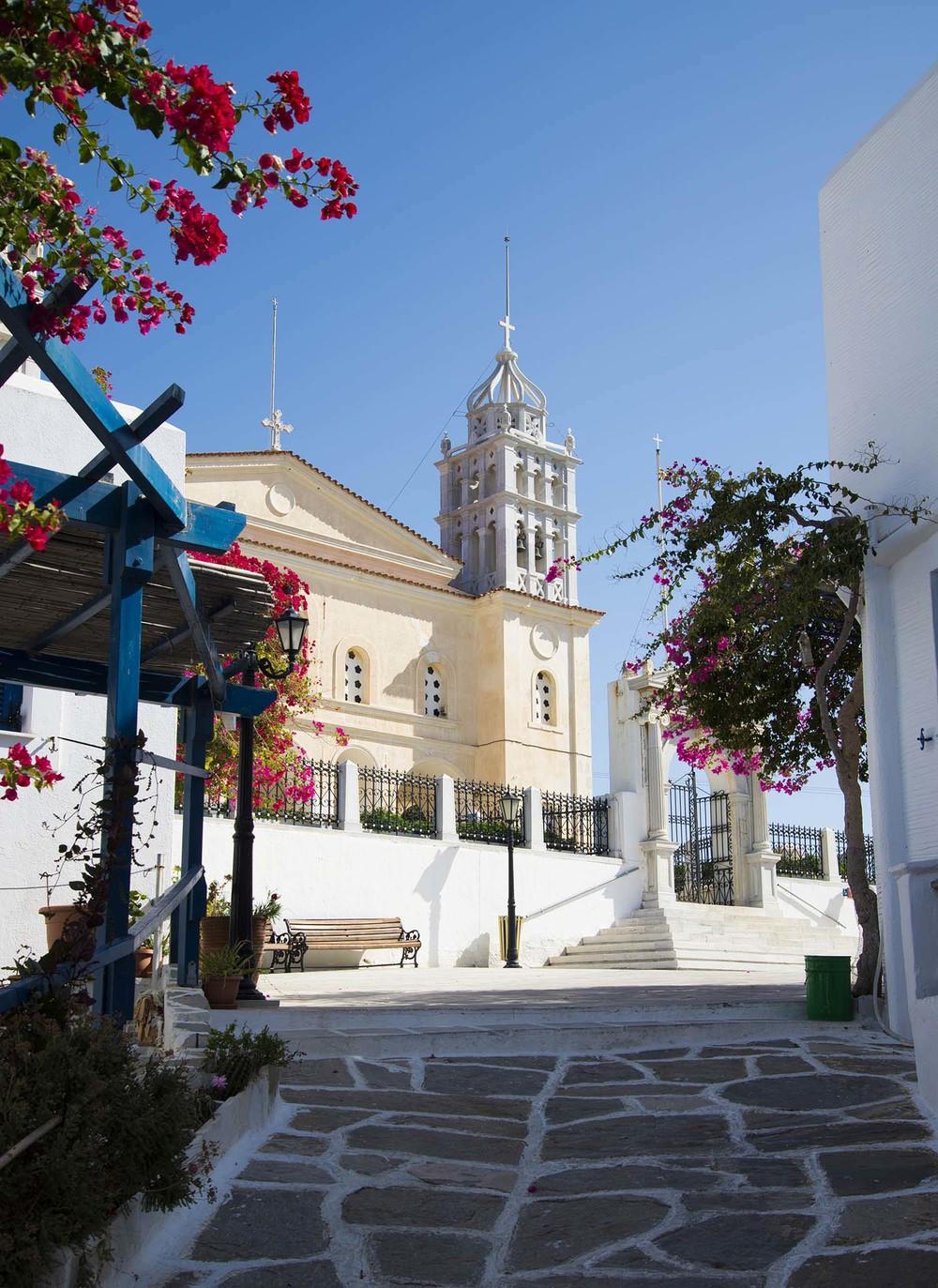 The Church of Aghia Triada, 1830, Paros