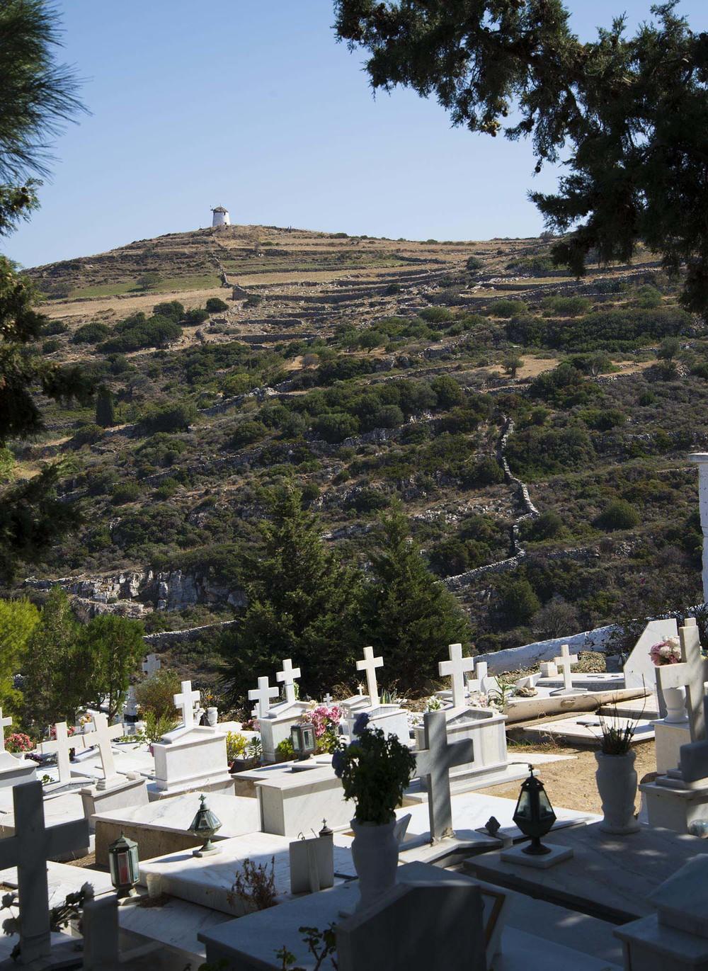 Lefkes cemetary, Paros